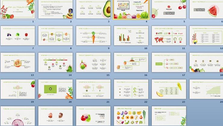 قالب پاورپوینت روز جهانی غذا